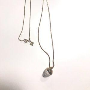 Banana Republic Acorn Necklace NWOT